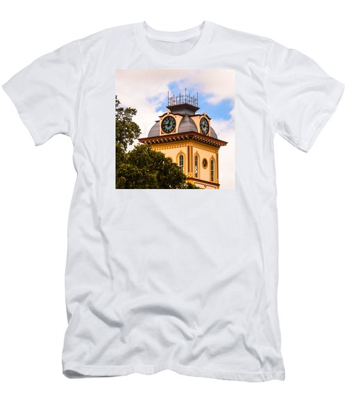 John W. Hargis Hall Clock Tower Men's T-Shirt (Athletic Fit)