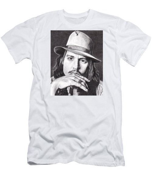 Johnny Depp Men's T-Shirt (Athletic Fit)