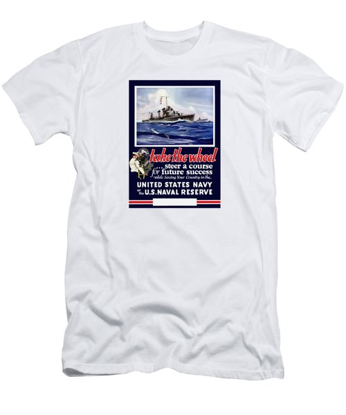 Join The Us Navy - Ww2 Men's T-Shirt (Athletic Fit)