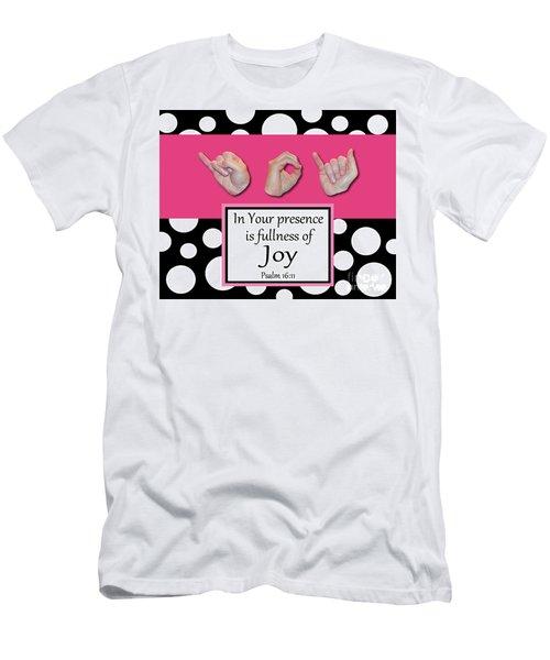 Joy - Bw Graphic Men's T-Shirt (Athletic Fit)