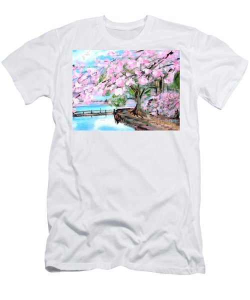 Joy Of Spring. For Sale Art Prints And Cards Men's T-Shirt (Athletic Fit)