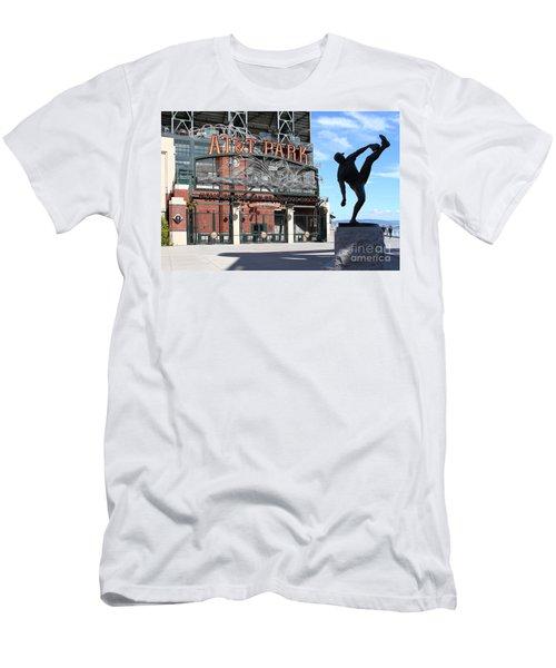 Juan Marichal At San Francisco Att Park . 7d7639 Men's T-Shirt (Athletic Fit)