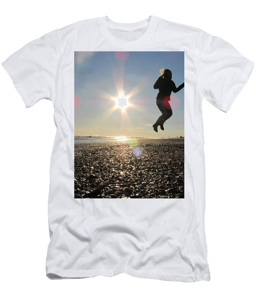 Jumping In The Sun Men's T-Shirt (Athletic Fit)