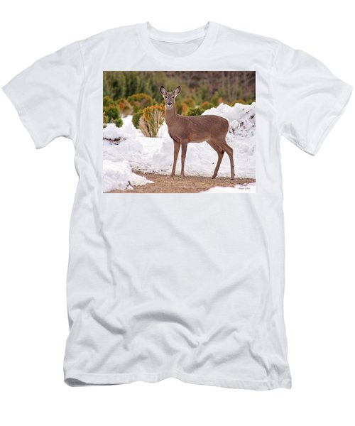 Men's T-Shirt (Athletic Fit) featuring the photograph Junior by Angel Cher