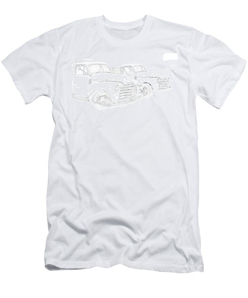 Junkyard Finds Men's T-Shirt (Slim Fit) by Jeffrey Jensen