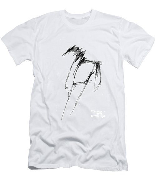 Just A Horse Sketch Men's T-Shirt (Athletic Fit)