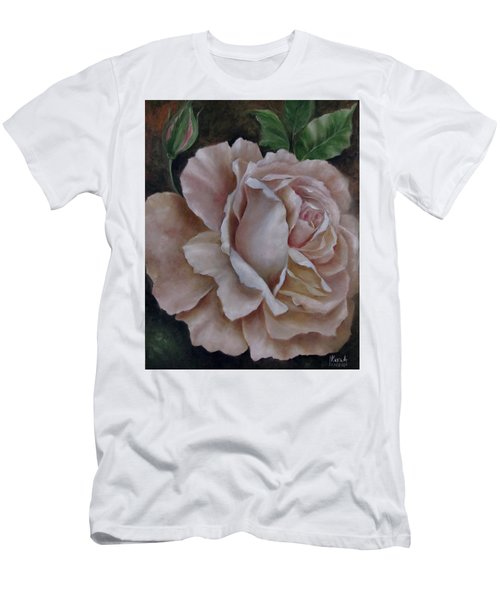 Just A Rose Men's T-Shirt (Slim Fit) by Katia Aho
