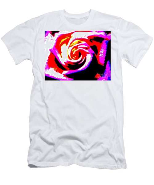 Just A Rose Men's T-Shirt (Athletic Fit)