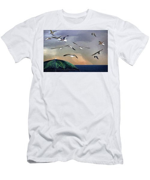 Just Another Day At The Beach Men's T-Shirt (Athletic Fit)