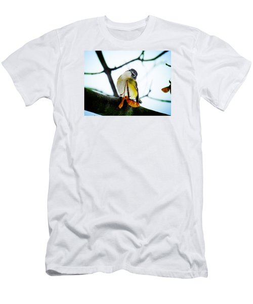 Just Curious Men's T-Shirt (Slim Fit) by Zinvolle Art