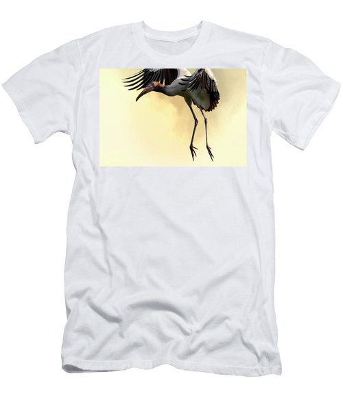 Just Dropping In Men's T-Shirt (Slim Fit) by Cyndy Doty