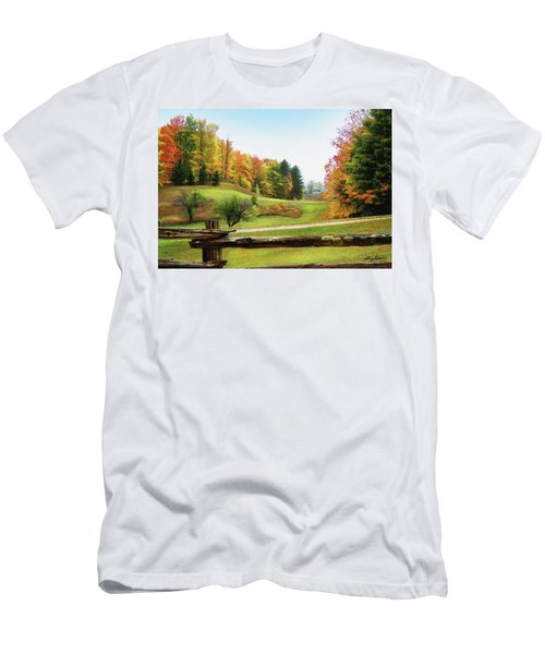 Just Over The Next Ridge Men's T-Shirt (Athletic Fit)