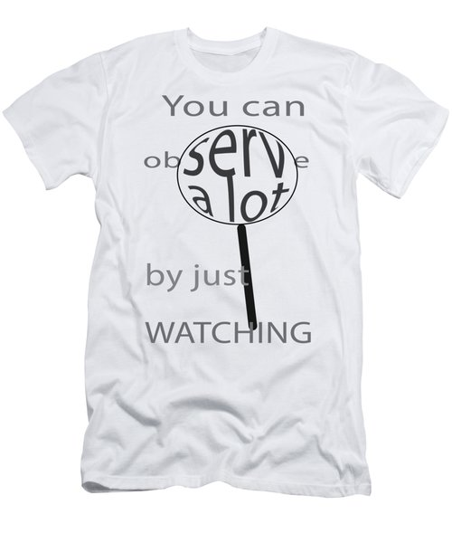 Just Watch Men's T-Shirt (Athletic Fit)