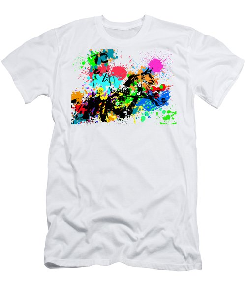 Justify Pop Art Men's T-Shirt (Athletic Fit)