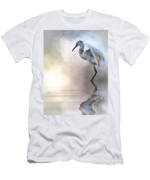 Juvenile Heron Men's T-Shirt (Athletic Fit)