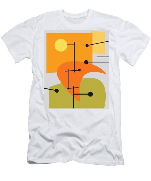 Juxtaposing Thoughts Men's T-Shirt (Athletic Fit)