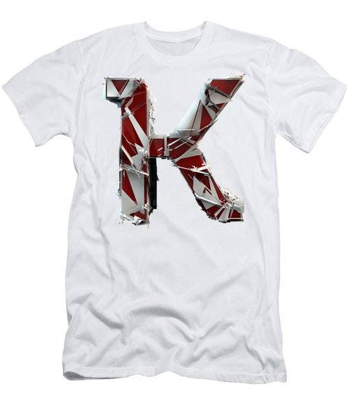 K Is For King Men's T-Shirt (Athletic Fit)