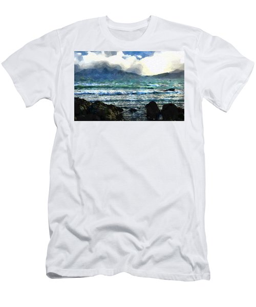 Kaikoura Seascape Men's T-Shirt (Slim Fit) by Kai Saarto