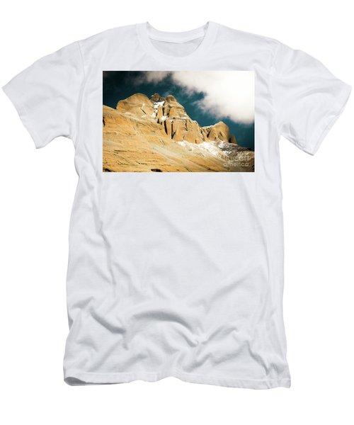 Kailas Kora Himalayas Mountain Tibet Yantra.lv Men's T-Shirt (Athletic Fit)