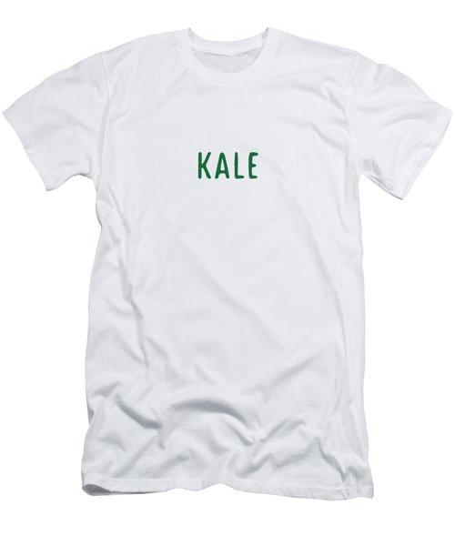 Kale Men's T-Shirt (Slim Fit) by Cortney Herron