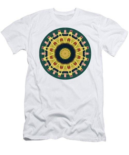 Kaleidos - Grindavik01 Men's T-Shirt (Slim Fit) by Jack Torcello