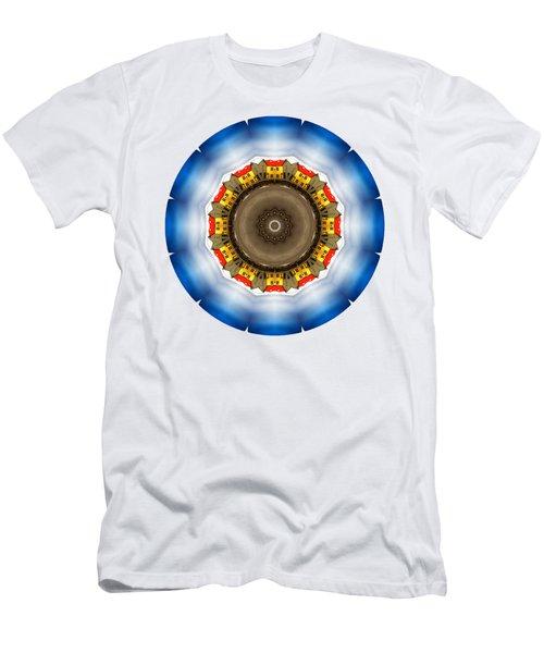 Kaleidos - Reykjavik01 Men's T-Shirt (Slim Fit) by Jack Torcello