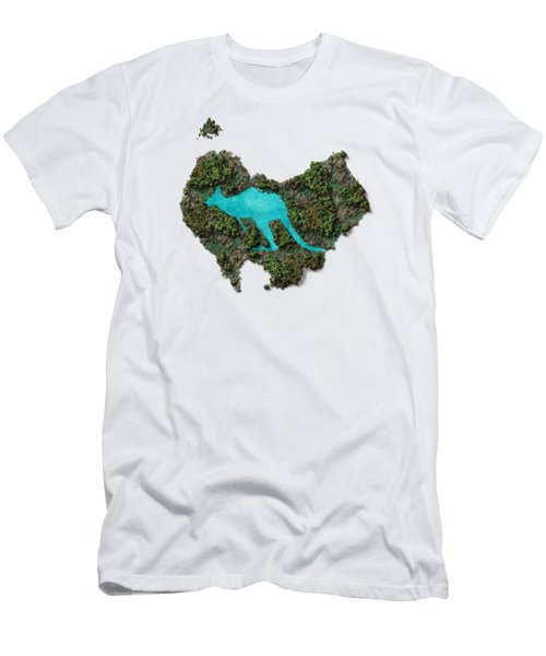 Kangaroo Island. Men's T-Shirt (Athletic Fit)