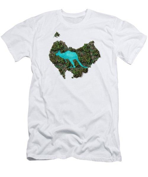 Kangaroo Island. Men's T-Shirt (Athletic Fit)