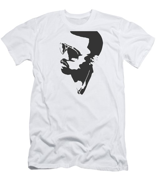 Kanye West Silhouette Men's T-Shirt (Slim Fit) by Dan Sproul
