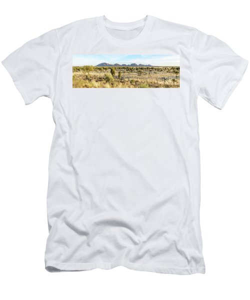 Men's T-Shirt (Athletic Fit) featuring the photograph Kata Tjuta 03 by Werner Padarin