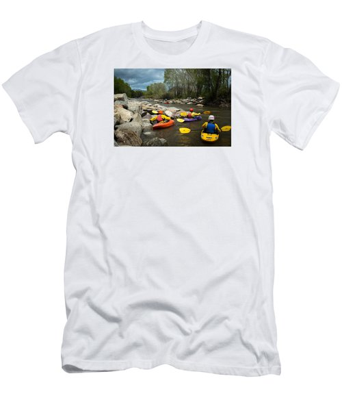 Kayaking Class Men's T-Shirt (Athletic Fit)