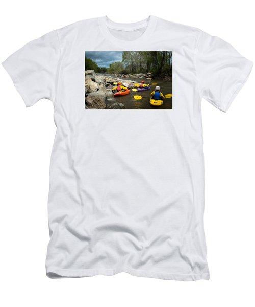 Kayaking Class Men's T-Shirt (Athletic Fit)