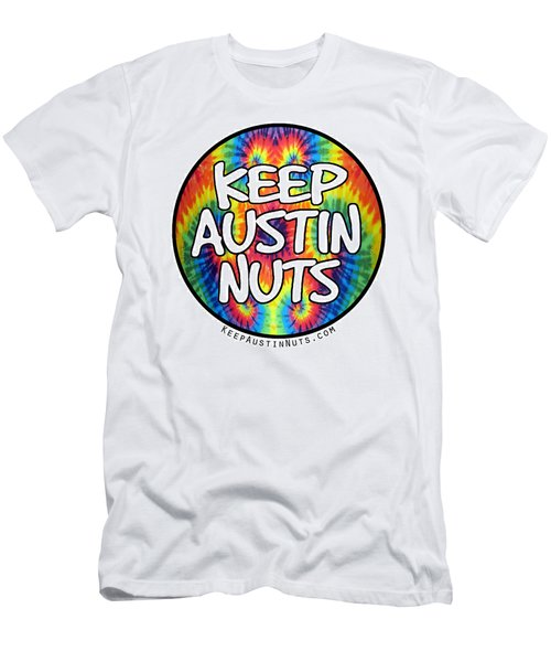 Keep Austin Nuts Men's T-Shirt (Athletic Fit)