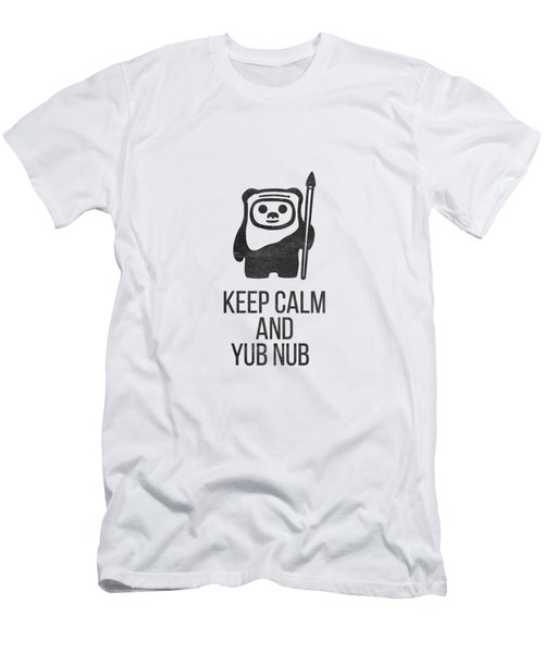 Keep Calm And Yub Nub Men's T-Shirt (Athletic Fit)