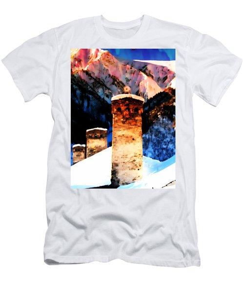 Keeper Of The Light Adishi Svaneti Men's T-Shirt (Slim Fit) by Anastasia Savage Ealy