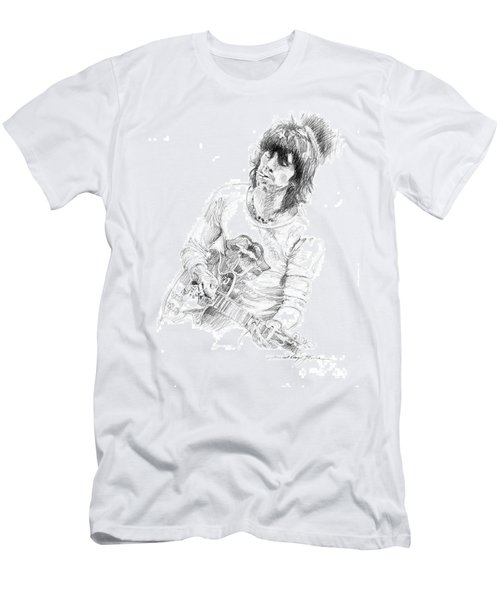 Keith Richards Exile Men's T-Shirt (Athletic Fit)
