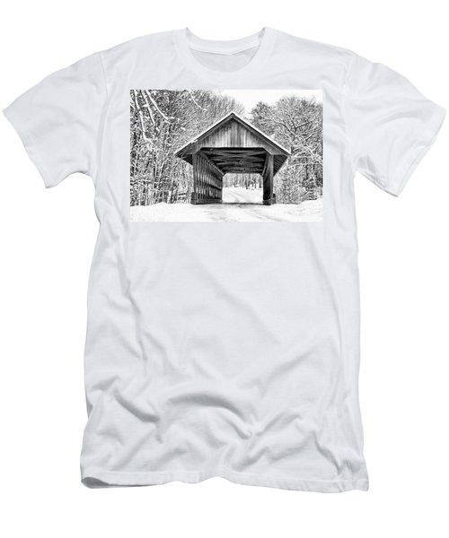 Keniston Covered Bridge  Men's T-Shirt (Athletic Fit)