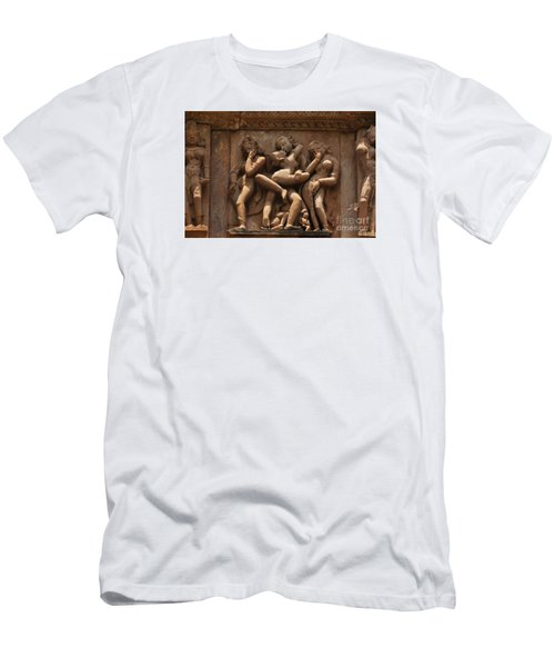 Khajuraho Temples 6 Men's T-Shirt (Athletic Fit)
