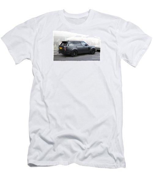 Khan Range Rover Men's T-Shirt (Slim Fit) by Roger Lighterness