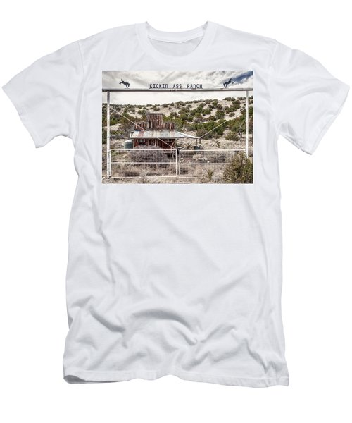Kickin Ass Ranch Men's T-Shirt (Athletic Fit)