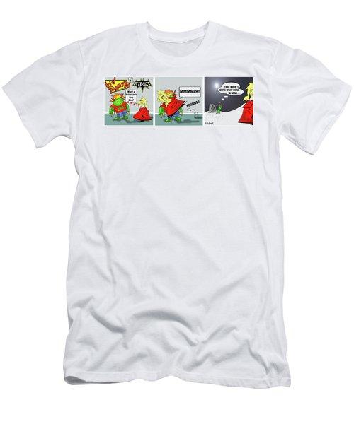 Kid Monsta Triptych 3 Men's T-Shirt (Athletic Fit)