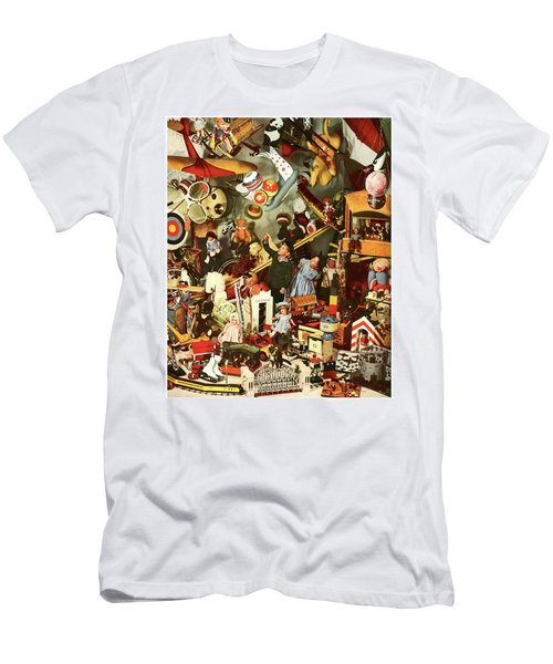 Kids In Toy Shop  Men's T-Shirt (Athletic Fit)