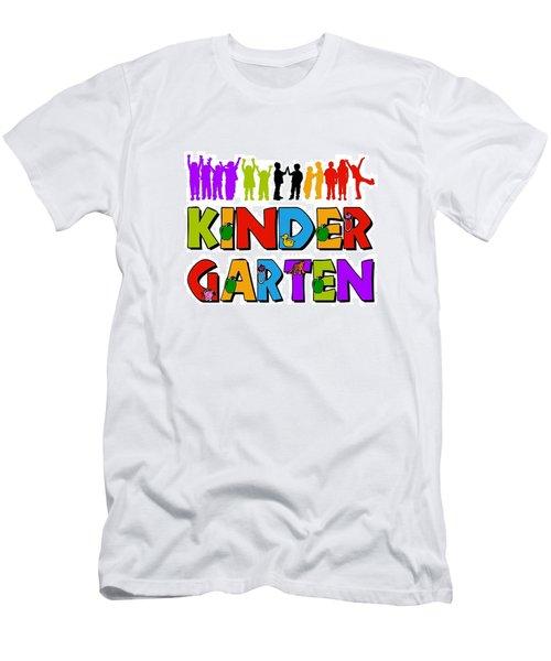 Kids Kindergarten Men's T-Shirt (Athletic Fit)