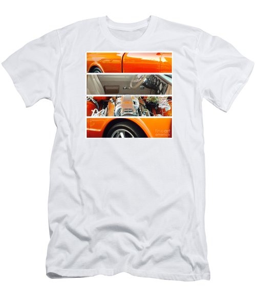 Men's T-Shirt (Slim Fit) featuring the photograph Killeen Texas Car Show - No.2 by Joe Finney