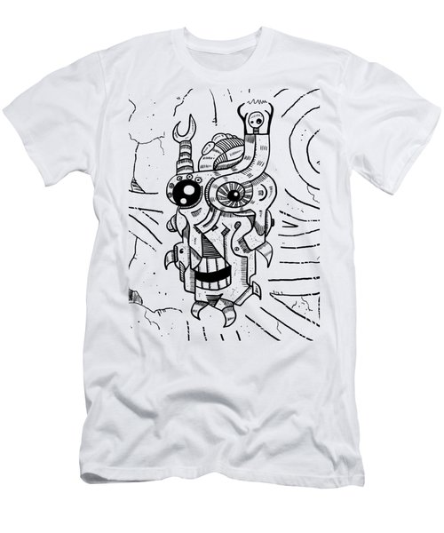 Killer Robot Men's T-Shirt (Athletic Fit)