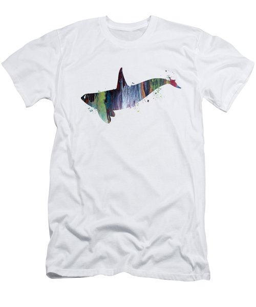 Killer Whale Men's T-Shirt (Athletic Fit)