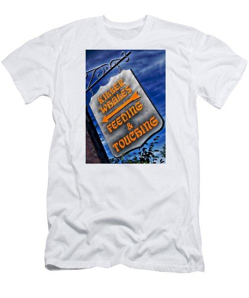 Killer Whales Sign Men's T-Shirt (Athletic Fit)