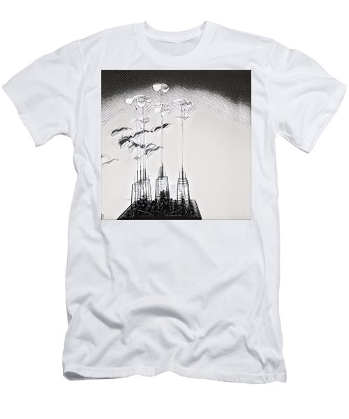 Kinetic Sculpture Men's T-Shirt (Athletic Fit)