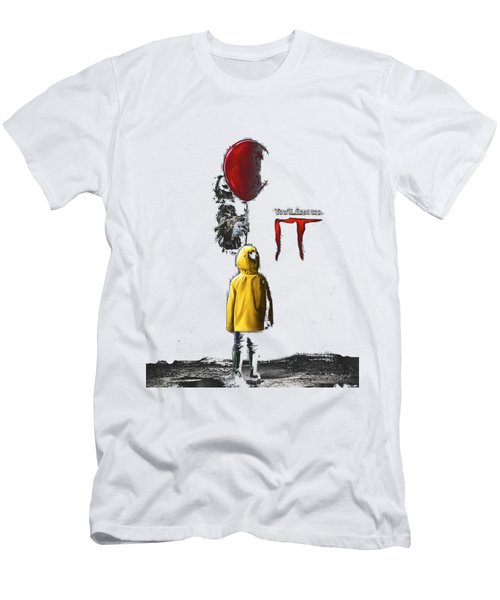 King Stephen, Pennywise, Men's T-Shirt (Athletic Fit)