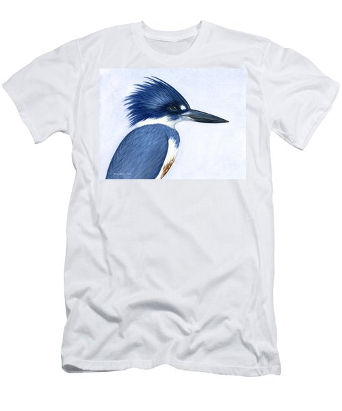 Kingfisher Portrait Men's T-Shirt (Athletic Fit)